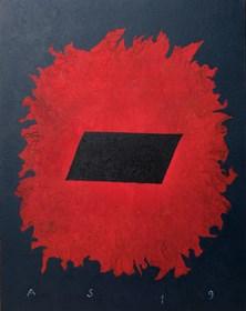 Obraz do salonu artysty Andrzej Strumiłło pod tytułem Bez tytułu 1