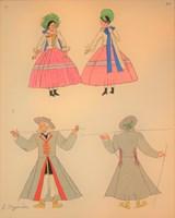 Obraz do salonu artysty Zofia Stryjeńska pod tytułem Tablica 10