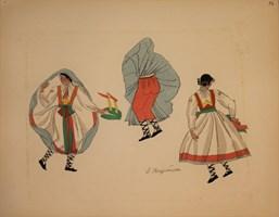 Obraz do salonu artysty Zofia Stryjeńska pod tytułem Tablica 14
