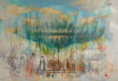 Obraz do salonu artysty Grzegorz Radziewicz pod tytułem Nadzieja
