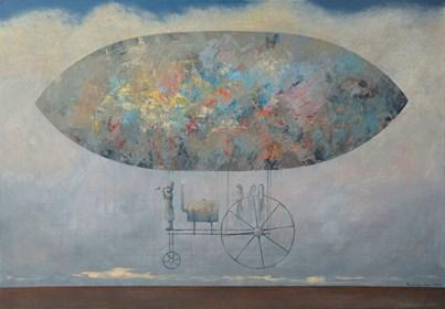 Obraz do salonu artysty Grzegorz Radziewicz pod tytułem Odyseja
