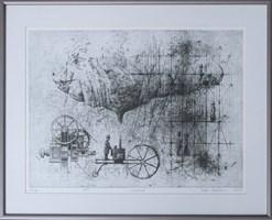 Grafika do salonu artysty Grzegorz Radziewicz pod tytułem Workshop 28/50