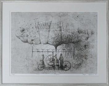 Grafika do salonu artysty Grzegorz Radziewicz pod tytułem Congueror 31/50