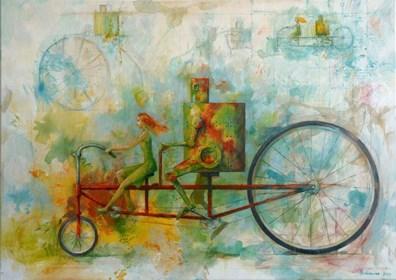 Obraz do salonu artysty Grzegorz Radziewicz pod tytułem Journey