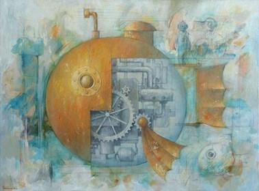 Obraz do salonu artysty Grzegorz Radziewicz pod tytułem Prototyp