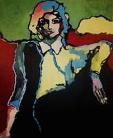 Obraz do salonu artysty Iwona Dombek Rybczyńska pod tytułem Silens