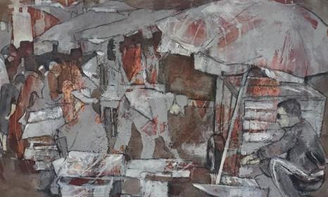 Obraz do salonu artysty Monika Ślósarczyk pod tytułem Maroko 2