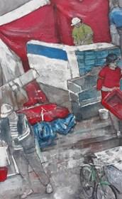 Obraz do salonu artysty Monika Ślósarczyk pod tytułem Maroko 3