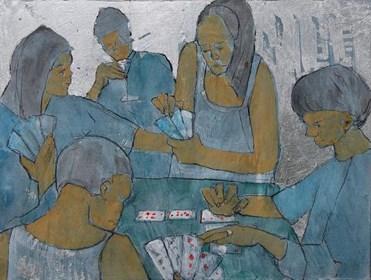Obraz do salonu artysty Monika Ślósarczyk pod tytułem Bridge