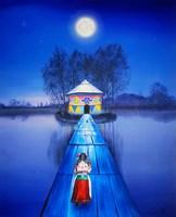Obraz do salonu artysty Paulina Zalewska pod tytułem Bez tytułu