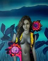 Obraz do salonu artysty Paulina Zalewska pod tytułem Ogród Flory