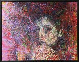 Obraz do salonu artysty Małgorzata Kosiec pod tytułem Midnight Mystery