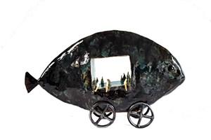 Rzeźba do salonu artysty Anna Luteracka pod tytułem Jonasze życie
