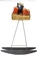Rzeźba do salonu artysty Anna Luteracka pod tytułem Zabujane