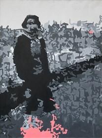 Obraz do salonu artysty Bartosz Kokosiński pod tytułem Pod Wawelem