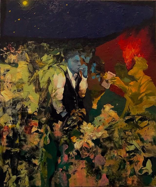 Obraz do salonu artysty Tomasz Tobolewski pod tytułem Briftreger