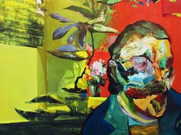 Obraz do salonu artysty Tomasz Tobolewski pod tytułem Gauguin