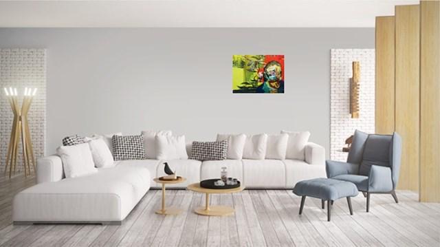 Gauguin - wizualizacja pracy autora Tomasz Tobolewski
