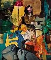 Obraz do salonu artysty Tomasz Tobolewski pod tytułem Ruch wewnątrzkadrowy