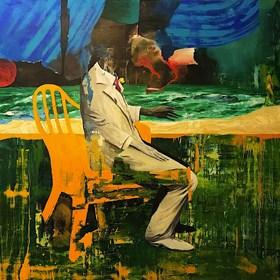 Obraz do salonu artysty Tomasz Tobolewski pod tytułem Aschenbach