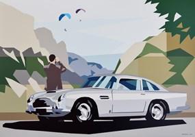 Obraz do salonu artysty Jakub Napieraj pod tytułem Wąwóz Vikos