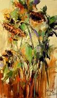 Obraz do salonu artysty Grażyna Mucha pod tytułem Słoneczniki
