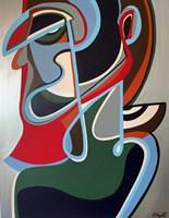 Obraz do salonu artysty Katarzyna Chmiel pod tytułem Forma fizyczna-Szpieg