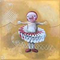 Obraz do salonu artysty Katarzyna Słowiańska-Kucz pod tytułem Baletnica
