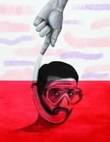 Obraz do salonu artysty Maciej Zabawa pod tytułem Kocham Cię Polsko
