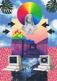Obraz do salonu artysty Agnieszka Giera pod tytułem Kolaż Vaporwave 4