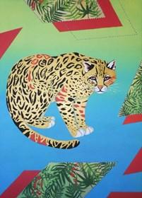 Obraz do salonu artysty Agnieszka Giera pod tytułem Ocelot