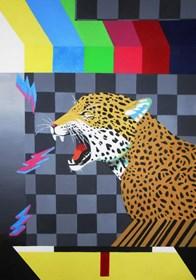 Obraz do salonu artysty Agnieszka Giera pod tytułem Jaguar