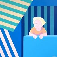 Obraz do salonu artysty Joanna Sułek-Malinowska pod tytułem Parawany