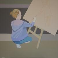 Obraz do salonu artysty Joanna Sułek-Malinowska pod tytułem Dotyk