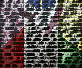 Obraz do salonu artysty Aleksander Grzybek pod tytułem Sąd ostateczny (tryptyk)