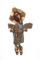 Rzeźba do salonu artysty Aleksander Grzybek pod tytułem Anioł
