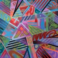 Obraz do salonu artysty Artur Marciniszyn (KOCUR 1) pod tytułem Miami Jam