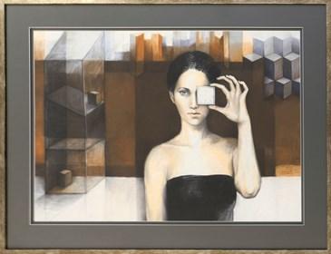 Obraz do salonu artysty Mira Skoczek-Wojnicka pod tytułem Singielka