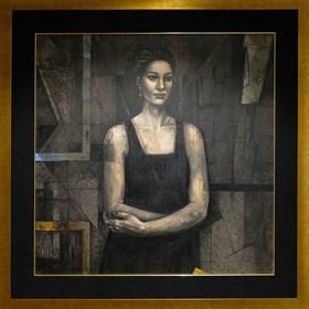 Obraz do salonu artysty Mira Skoczek-Wojnicka pod tytułem Portret