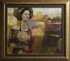 Obraz do salonu artysty Mira Skoczek-Wojnicka pod tytułem Kobieta W Turbanie