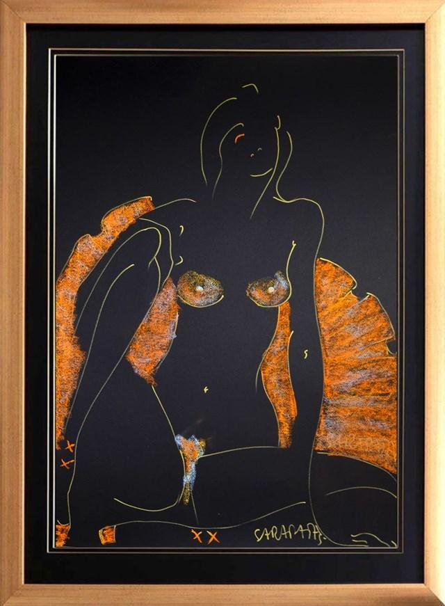 Obraz do salonu artysty Joanna Sarapata pod tytułem sunrise ballerina II