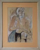 Obraz do salonu artysty Joanna Sarapata pod tytułem Kobieta
