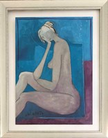 Obraz do salonu artysty Joanna Sarapata pod tytułem Akt