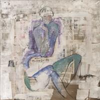 Obraz do salonu artysty Joanna Sarapata pod tytułem Nostalgia