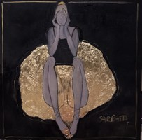 Obraz do salonu artysty Joanna Sarapata pod tytułem Czarny łabędź