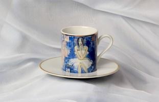 "do salonu artysty Joanna Sarapata pod tytułem Filiżanka do espresso - ""Le monde"" Women In Chaos"