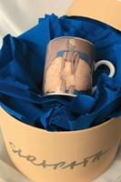 do salonu artysty Joanna Sarapata pod tytułem Filiżanka do espresso - Ballerina II Niebieski fotel