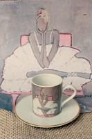 do salonu artysty Joanna Sarapata pod tytułem Filiżanka do espresso - Ballerina III Różowy Fotel