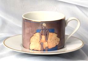 do salonu artysty Joanna Sarapata pod tytułem Filiżanka do herbaty -  Ballerina II Niebieski fotel