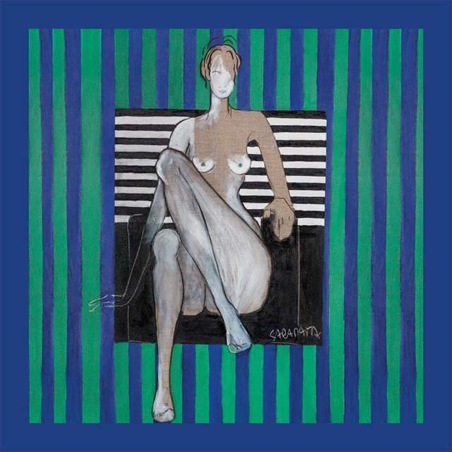 do salonu artysty Joanna Sarapata pod tytułem Jedwabna apaszka - Scent of Woman IV